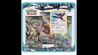 New Pokemon Ultra Prism Three pack Blister #2