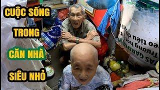 Cuộc sống ngột ngạt của cặp vợ chồng hơn 90 tuổi trong căn nhà 1 mét vuông