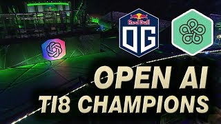 Game 2 - OG vs OpenAI FIVE - TI8 CHAMPIONS vs BOTS FINAL DOTA 2 Like Playing 45 Thousand Years