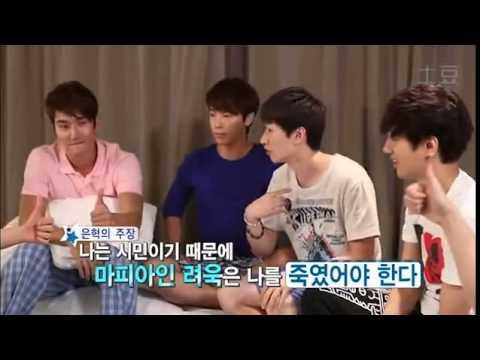 [Sub español] All About Super Junior: Juego Mafia