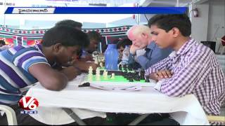 Blind students  active participation in National and International sports - Hyderabad(24-05-2015)