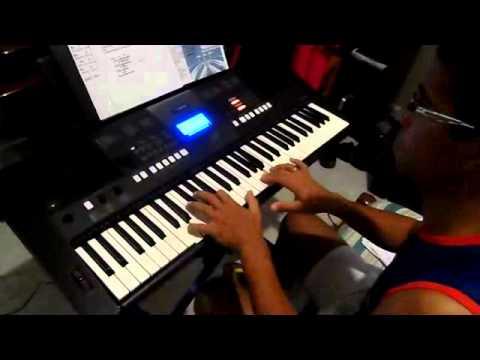 Baixar A Ele a Glória (Porque Dele e por Ele) - Diante do Trono - Solo teclado - completo