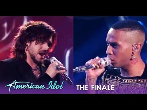 Adam Lambert & Dimitrius Graham With a KILLER Finale Collab   American Idol 2019