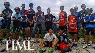 Thai Youth Soccer Team Found Alive in Flooded Cave 9 Days After They Went Missing | TIME