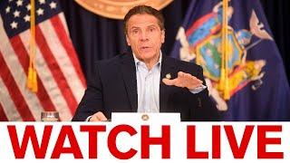 NY Gov. Cuomo briefing amid COVID hotspot controversy