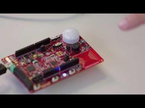 Cypress PSoC Analog Coprocessor Sensing Demo