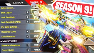 BEST APEX LEGENDS CONTROLLER SETTINGS in SEASON 9