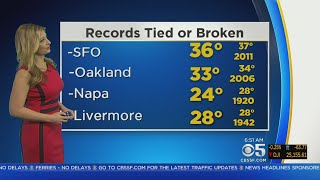 TODAY'S FORECAST: The latest Bay Area forecast from the KPIX 5 Weather Team