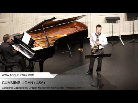 Dinant 2014 - CUMMINS, JOHN (Concierto Capriccio by Gregori Markovich Kalinkovich - v. DINANT)