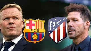 Barcelona vs Atletico Madrid, La Liga 2020/21 - TACTICAL PREVIEW