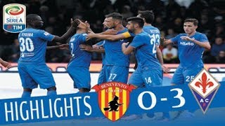 Benevento - Fiorentina 0-3 - Highlights - Giornata 9 - Serie A TIM 2017/18