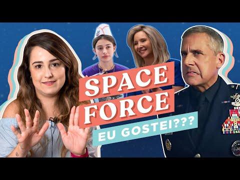 JÁ VI SPACE FORCE ... É BOM?