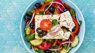 How To Make Traditional Greek Salad