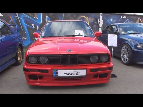 BMW E30 M50B20 Tuned Exterior and Interior in 3D