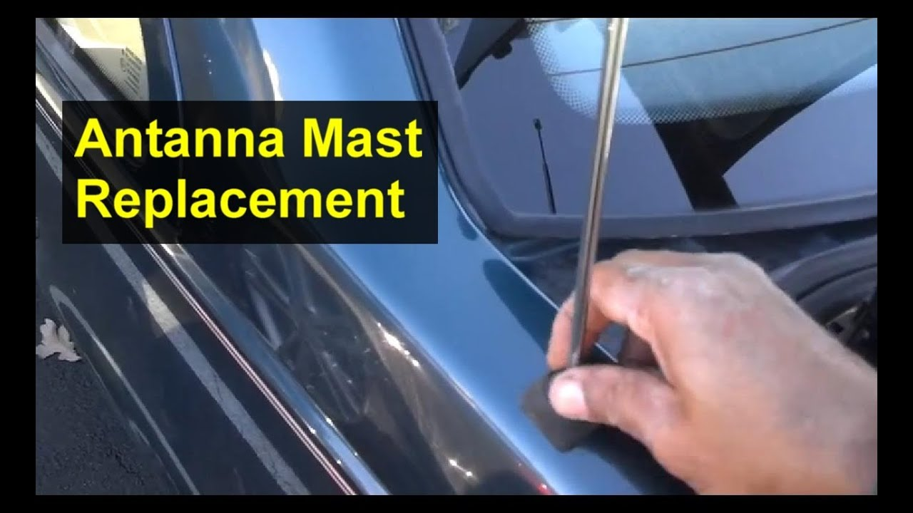 Antenna Mast Replacement Volvo 850 S70 And Other Cars