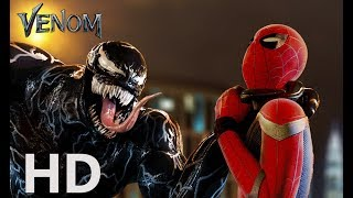 VENOM vs Spider-man - EPIC Fight Scene (2018) - Tom Hardy vs Tom Holland