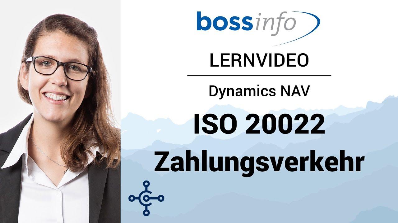 Microsoft Dynamics NAV Harmonisierung Zahlungsverkehr ISO 20022