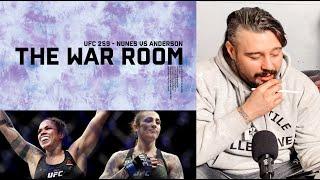 AMANDA NUNES VS MEGAN ANDERSON UFC 259 - THE WAR ROOM, DAN HARDY BREAKDOWN EP. 104