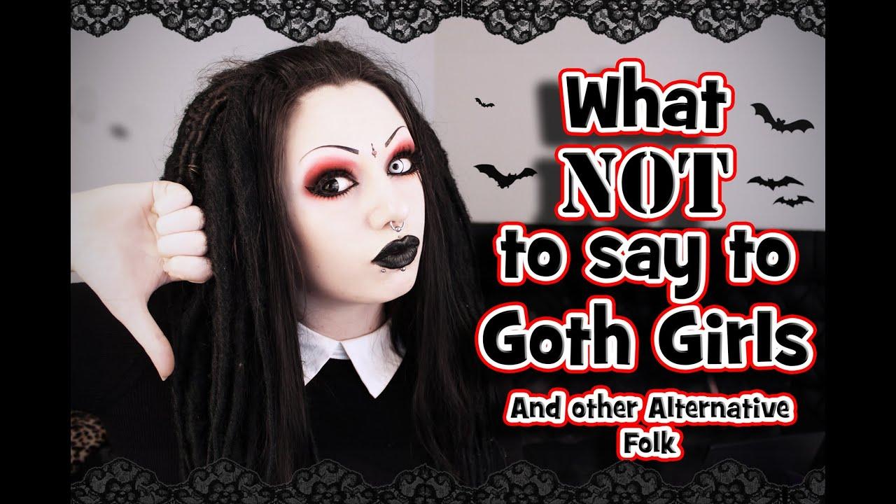 Goth girl wants to cum
