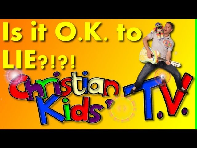 IS IT OK TO LIE? CHRISTIAN KIDS' VIDEO TV, funny.