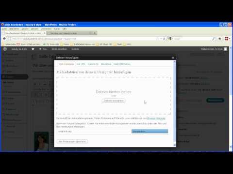 Tutorial: Bild / Grafik bei Wordpress hochladen und in Seite / Artikel einfügen