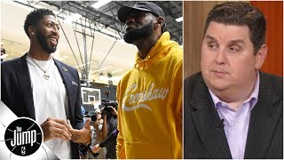 LeBron, Anthony Davis and Lakers need to avoid 'underdog mentality' - Brian Windhorst | The Jump