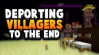 I Deported My Villagers... To An End Island