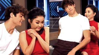 Noah Centineo Can't Hide his Affection for Lana Condor