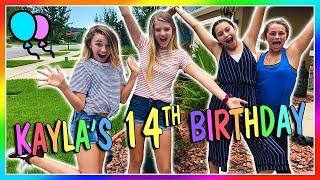 KAYLA'S 14TH BIRTHDAY   We Are The Davises