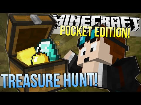 Baixar Minecraft Pocket Edition | TREASURE HUNT