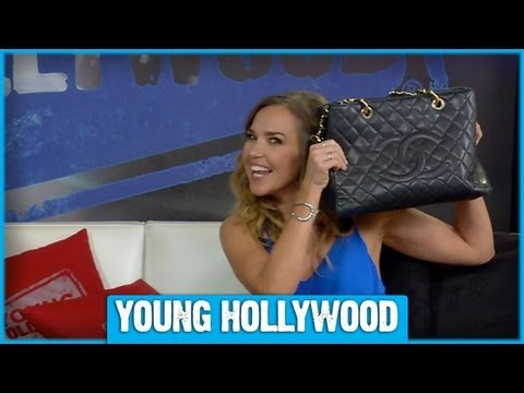 Arielle Kebbel Mixes Budget and Designer Fashions - YouTube