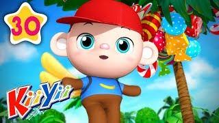 5 Little Monkeys   Plus More Nursery Rhymes   by KiiYii   Nursery Rhymes & Kids Songs