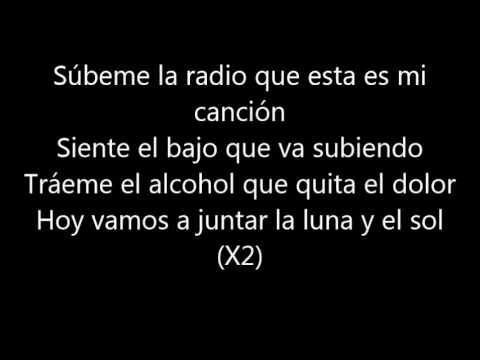 Enrique Iglesias - SUBEME LA RADIO (Lyrics/Letra)