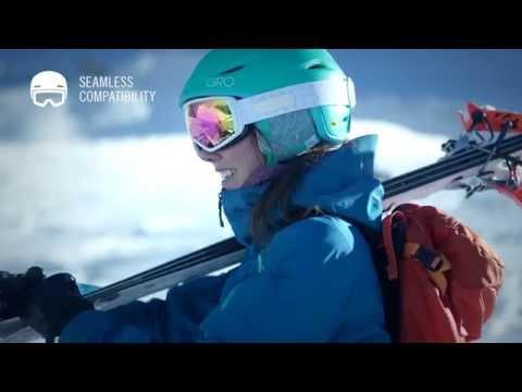 Giro Fade MIPS Womens Ski Helmet In Matte White