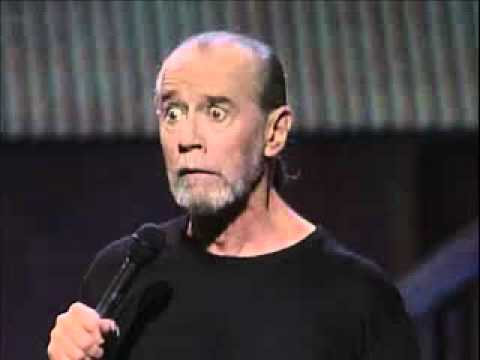 """George Carlin Stand Up """"People Are Fucking Boring"""" - YouTube"""