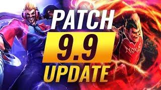 NEW UPDATE: Best Champions TIER LIST – League of Legends Patch 9.9