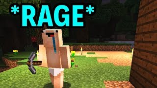 /ragecraft part 1 minecraft funny moments rages and fails