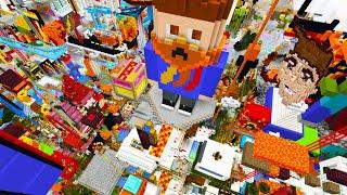 So I Gave 100 Players Creative Mode on My Minecraft Server...