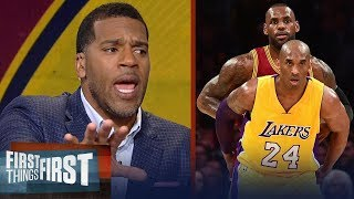 Kobe or LeBron: Jim Jackson's unique insight expels the NBA's biggest myth   FIRST THINGS FIRST