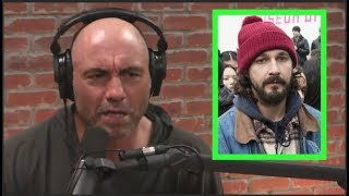 Joe Rogan on 4chan Trolling Shia Labeouf's