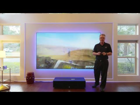 Sony 4k Projector Ultra Short Throw VPL-GTZ1 and Zero Edge Short Throw Projection Screen