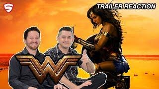 Wonder Woman - Official Origin Trailer Reaction