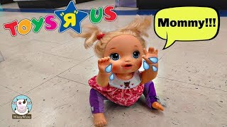 Baby Alive Juliet Gets Lost at Toys R Us