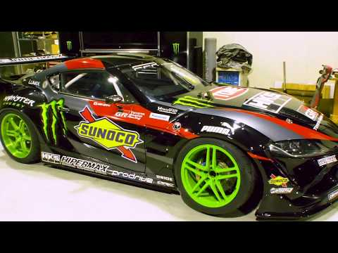 Daigo Saito Builds Worlds First Drift Toyota GR Supra