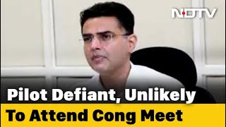 Sachin Pilot remains defiant as Congress calls meet again..