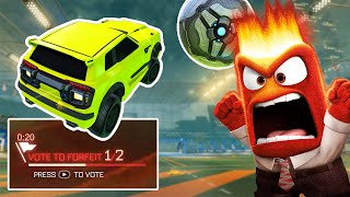 I recorded every toxic player in Rocket League month 2!