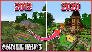 Transforming My First Minecraft Survival World!