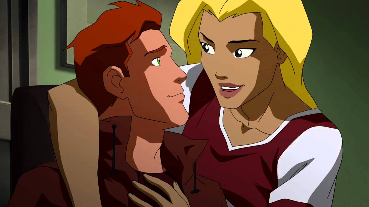 Young Justice S02E04 Wally and Artemis (Spitfire returns ...
