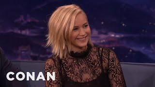 Jennifer Lawrence's Weird Chinese Nickname  - CONAN on TBS