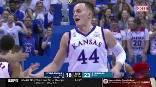 Kansas vs. Villanova Men's Basketball Highlights